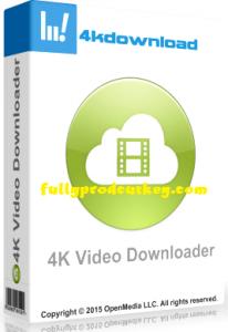 4k Video Downloader Crack 4.14.1.4020 Plus Activation Key