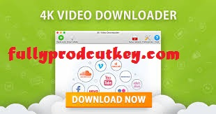 4K Video Downloader Crack 4.14.3 Plus Product Key {Latest}