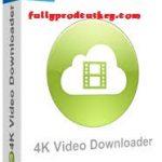 4K Video Downloader Crack 4.14.3 Plus Product Key {Latest}