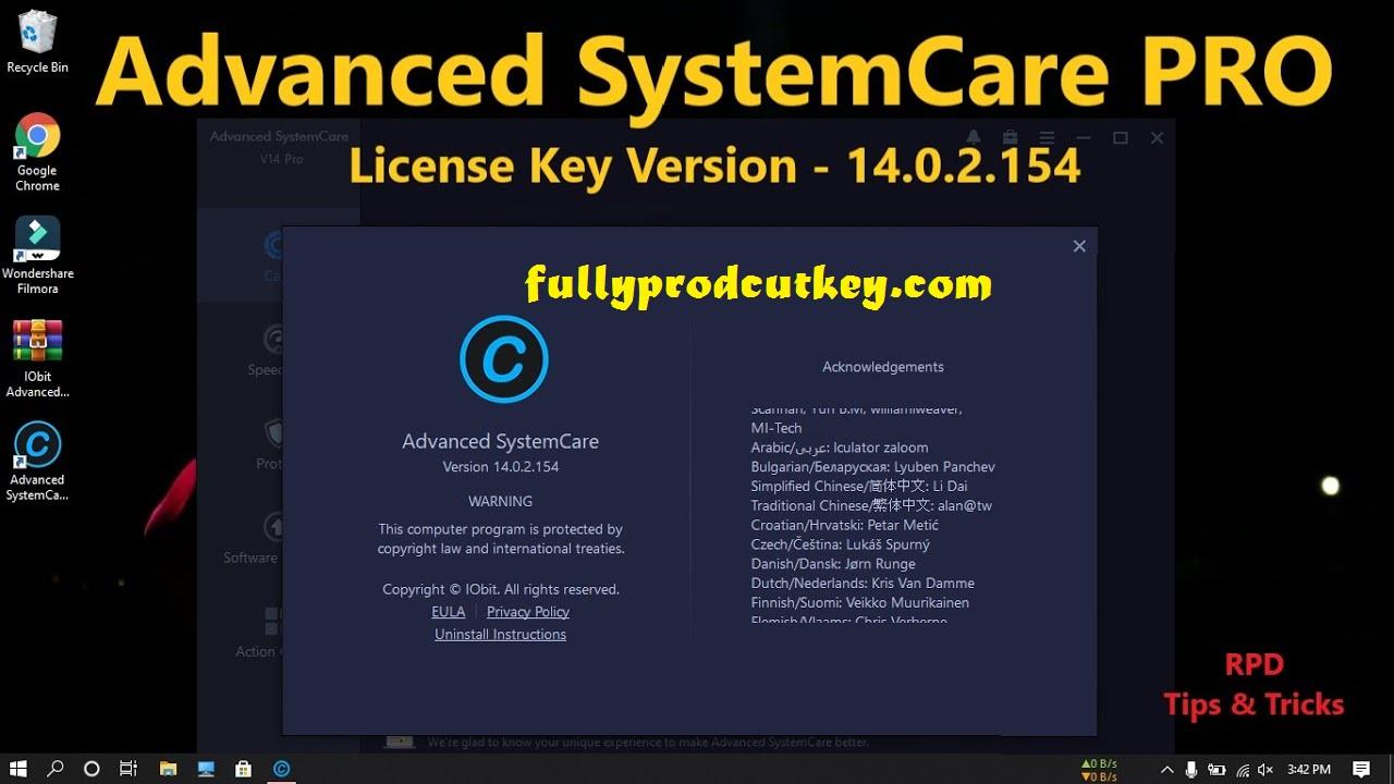 Advanced SystemCare Pro Crack 14.3.0.239 Plus Activation Key