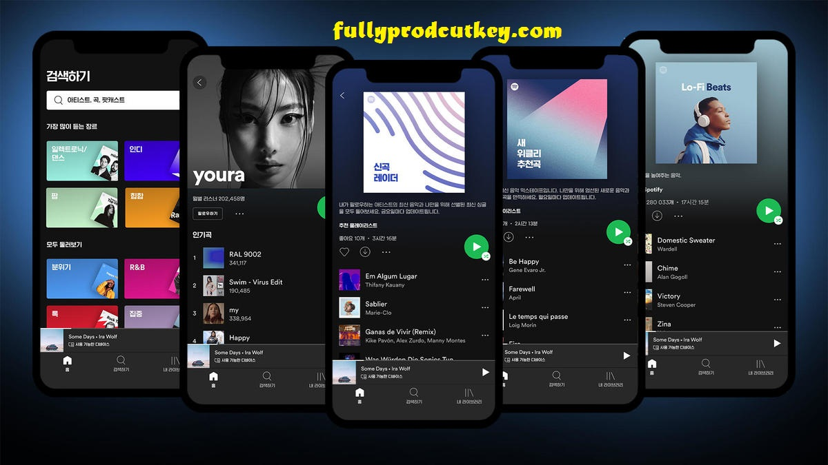Spotify Crack 1.1.52.687 Plus Activation Key Free Download 2021