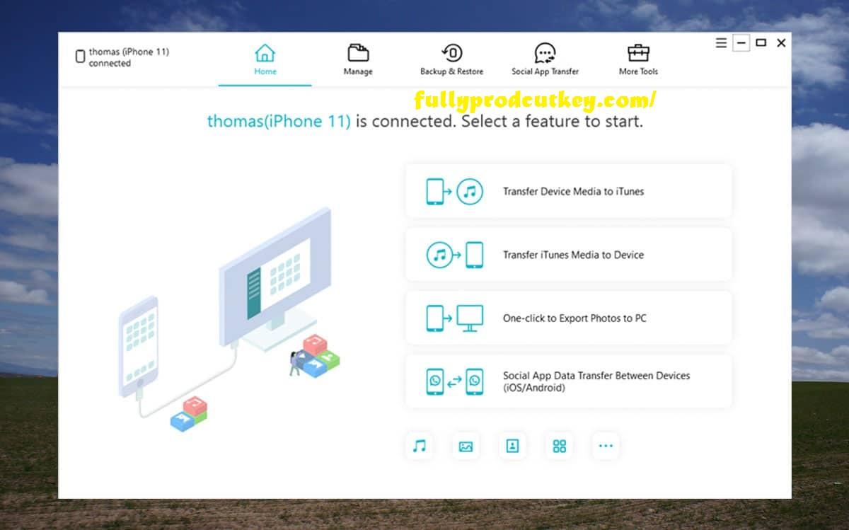 Tenorshare iCareFone Crack 7.5.3 Plus Serial Key Free Download