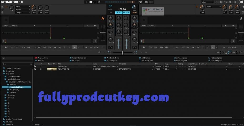 Traktor Pro Crack 3.4.2 Plus Product Key Free Download {Latest