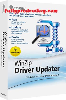 WinZip Driver Updater Crack 5.36.0.18 Plus License Key 2021