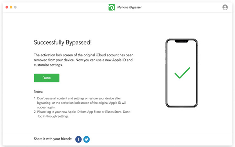 iMyFone iBypasser Crack free